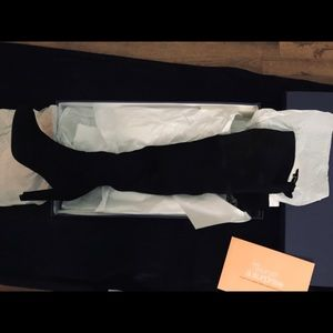 Stuart Weitzman Black Thigh High Boots